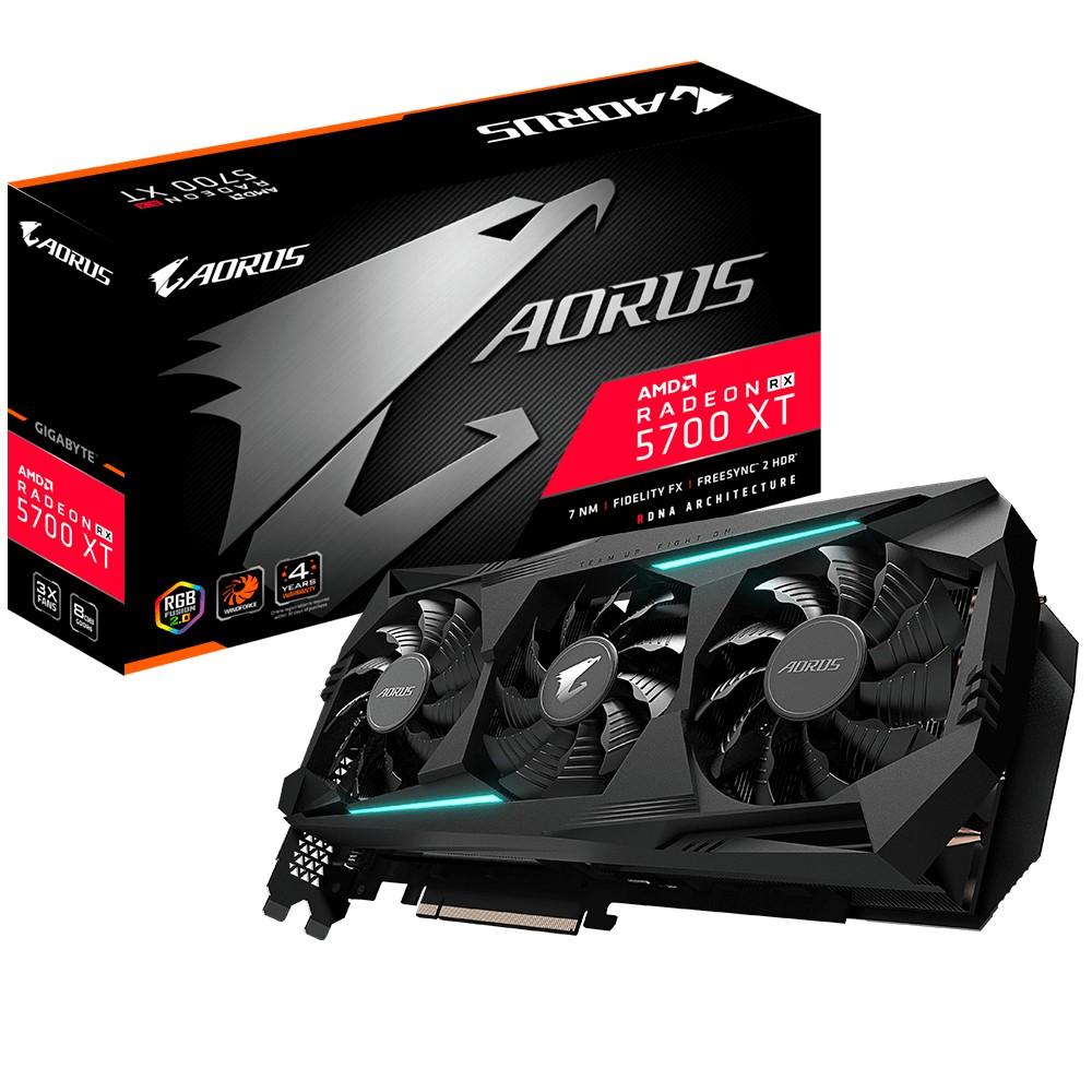 技嘉 AORUS RX 5700 XT 8G 註冊五年保 R57XTAORUS-8GD 三風扇 5700XT