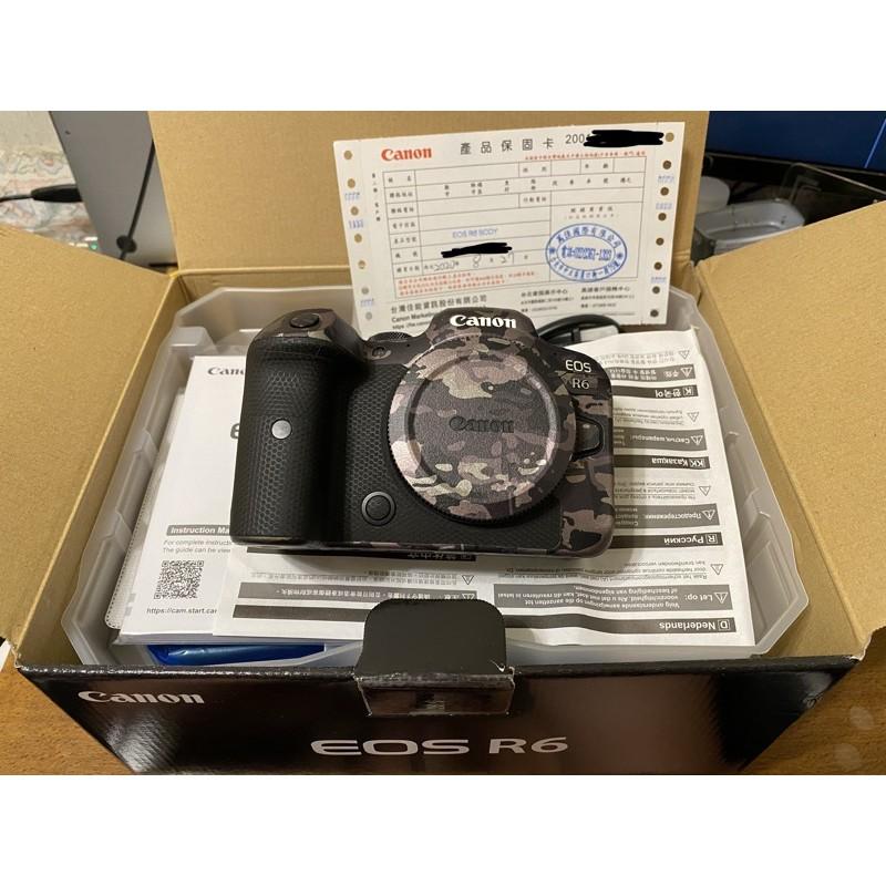 Canon EOS R6 公司貨 二手