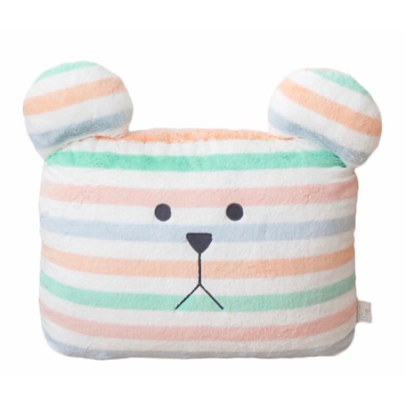 (全新未拆)宇宙人Craftholic  夢想旅行熊大靠枕