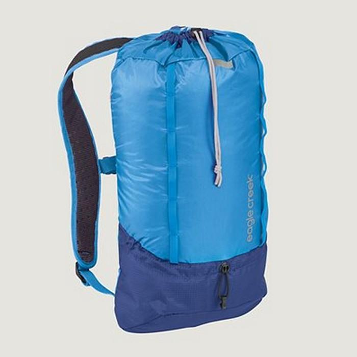 【Eagle Creek美國人氣旅遊配件】RFID超輕量防撕裂雙肩後背包 13L (北卡藍)