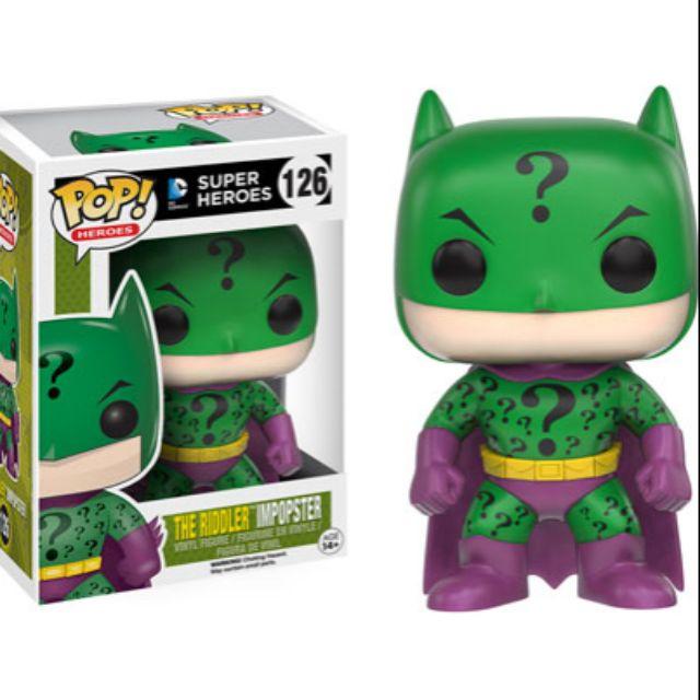 柴寶趣 現貨 FUNKO POP 126 謎天大聖 BATMAN 蝙蝠俠 DC 英雄 澳洲空運 正版