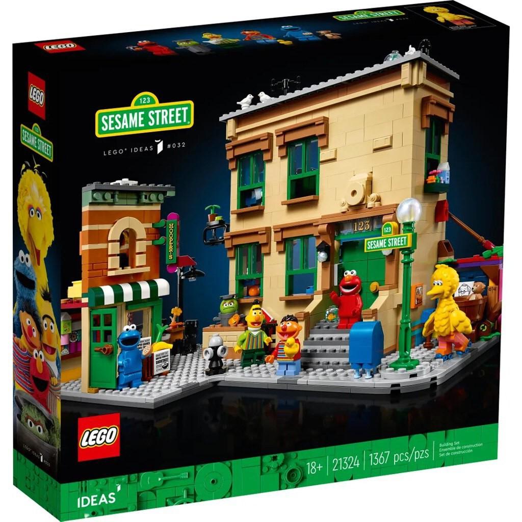 [現貨]LEGO 21324 可面交 123芝麻街 Ideas 樂高 123 Sesame Street