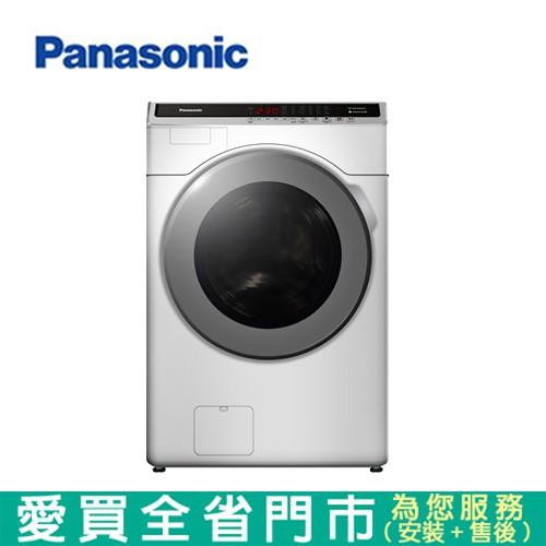 Panasonic國際18KG滾筒洗衣機NA-V180HW-W含配送+安裝【愛買】