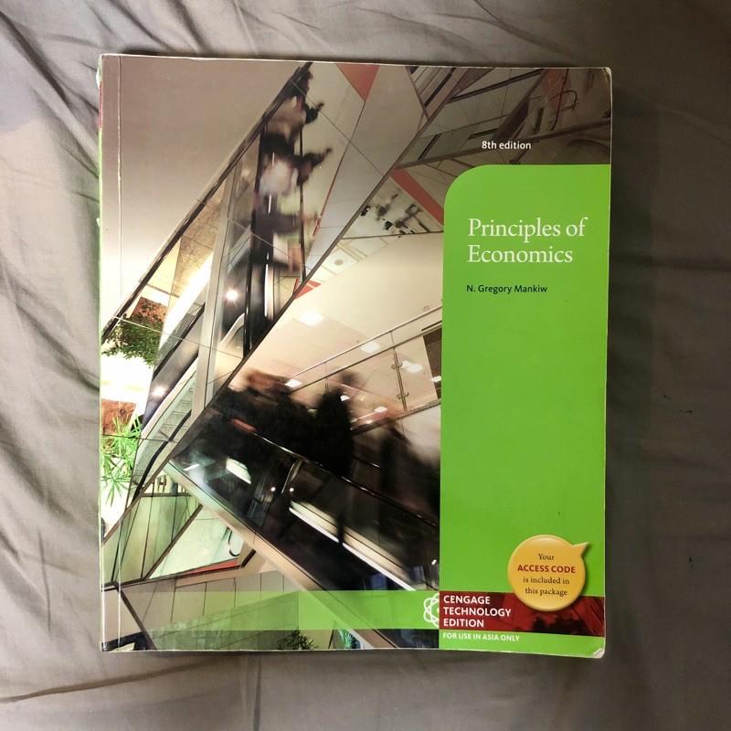 免運 總體經濟學(8版) principles of economics Mankiw 8th edition
