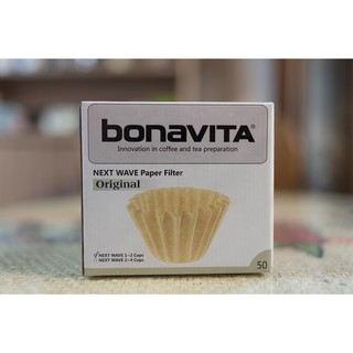Bonavita 4洞蛋糕濾杯專用濾紙1-2cup & 2-4cup 臺中市