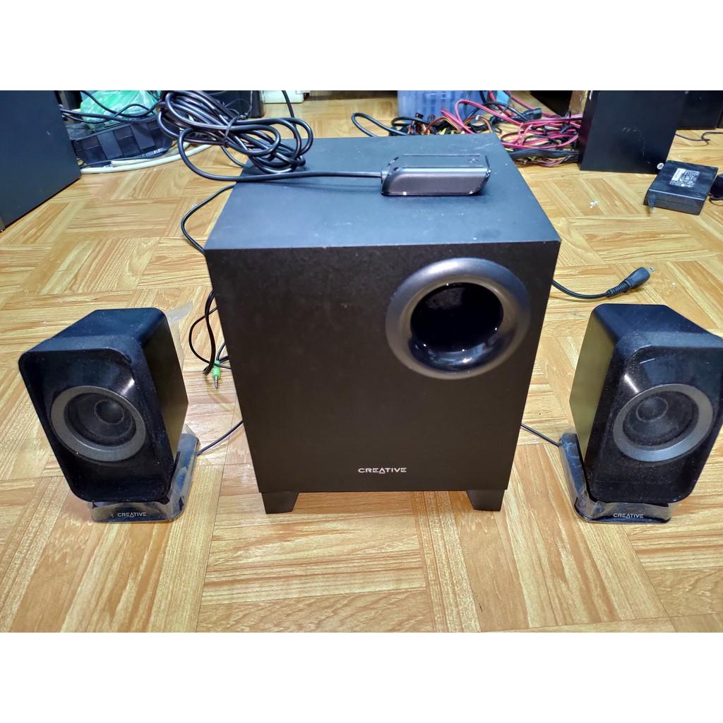 二手 CREATIVE T3150 Wireless 藍芽 2.1聲道喇叭 音響