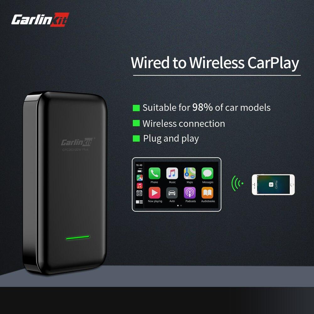 Carlinkit 2.0 無線 Carplay 加密狗激活器自動連接, 用於奧迪奔馳 Wolkswagen 馬自達有線