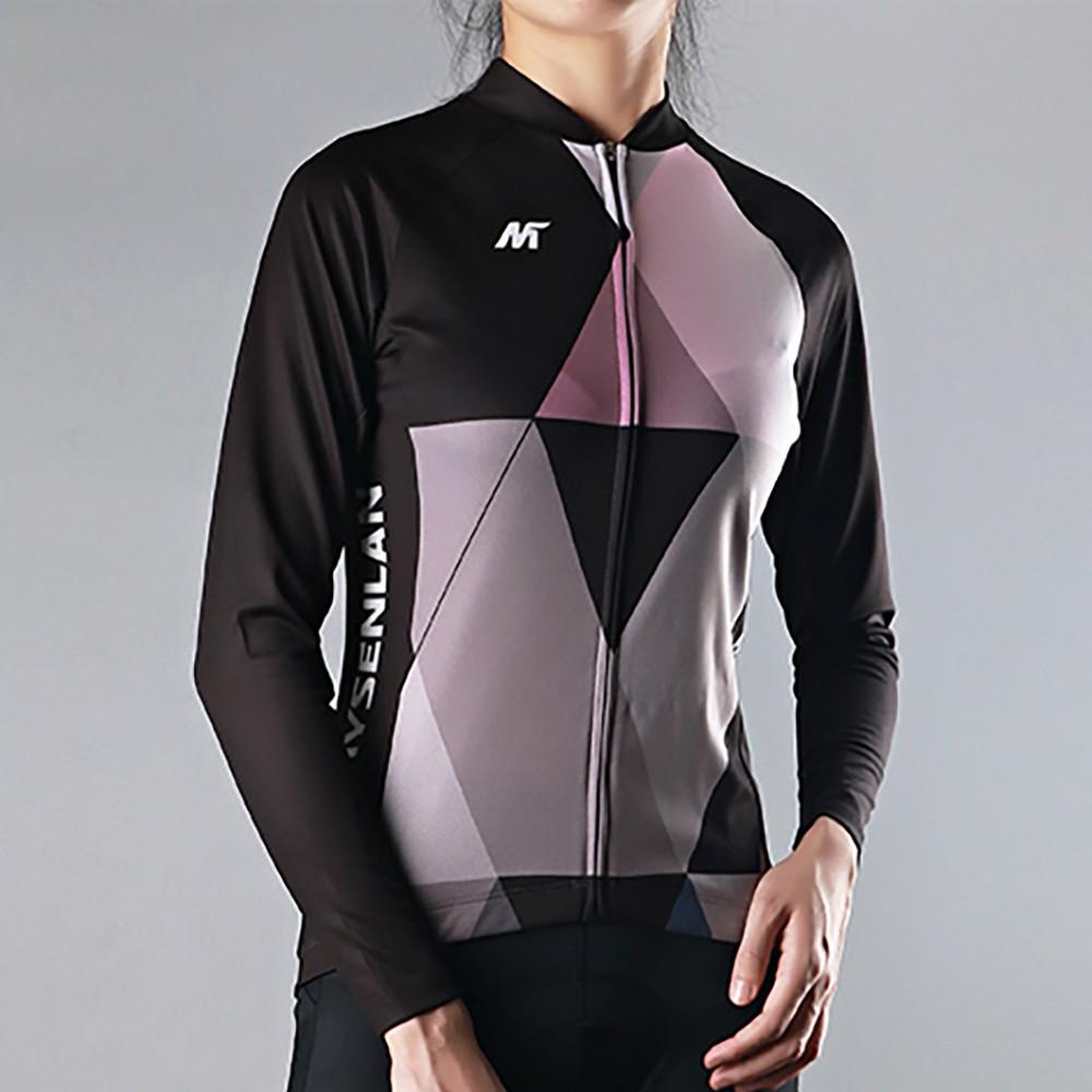 【VM.Plus】MSL鏡中人長車衣-黑(女) 長車衣 女款 自行車車衣 騎行服