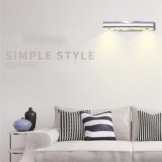 ♂現代創意簡約調光壁燈2WLED 臥室客廳走廊室內陽台餐廳壁燈85V-265V