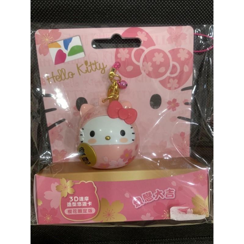 Hello Kitty 3D達摩悠遊卡