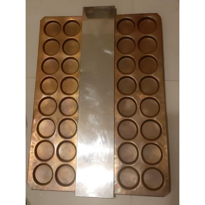 二手紅豆餅機 (純銅-青銅 32孔)