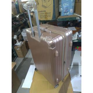 [全新NG福利品庫存出清] 29吋玫瑰金鋁框海關鎖行李箱(手工尺寸高78x寬50x長34公分) 彰化縣
