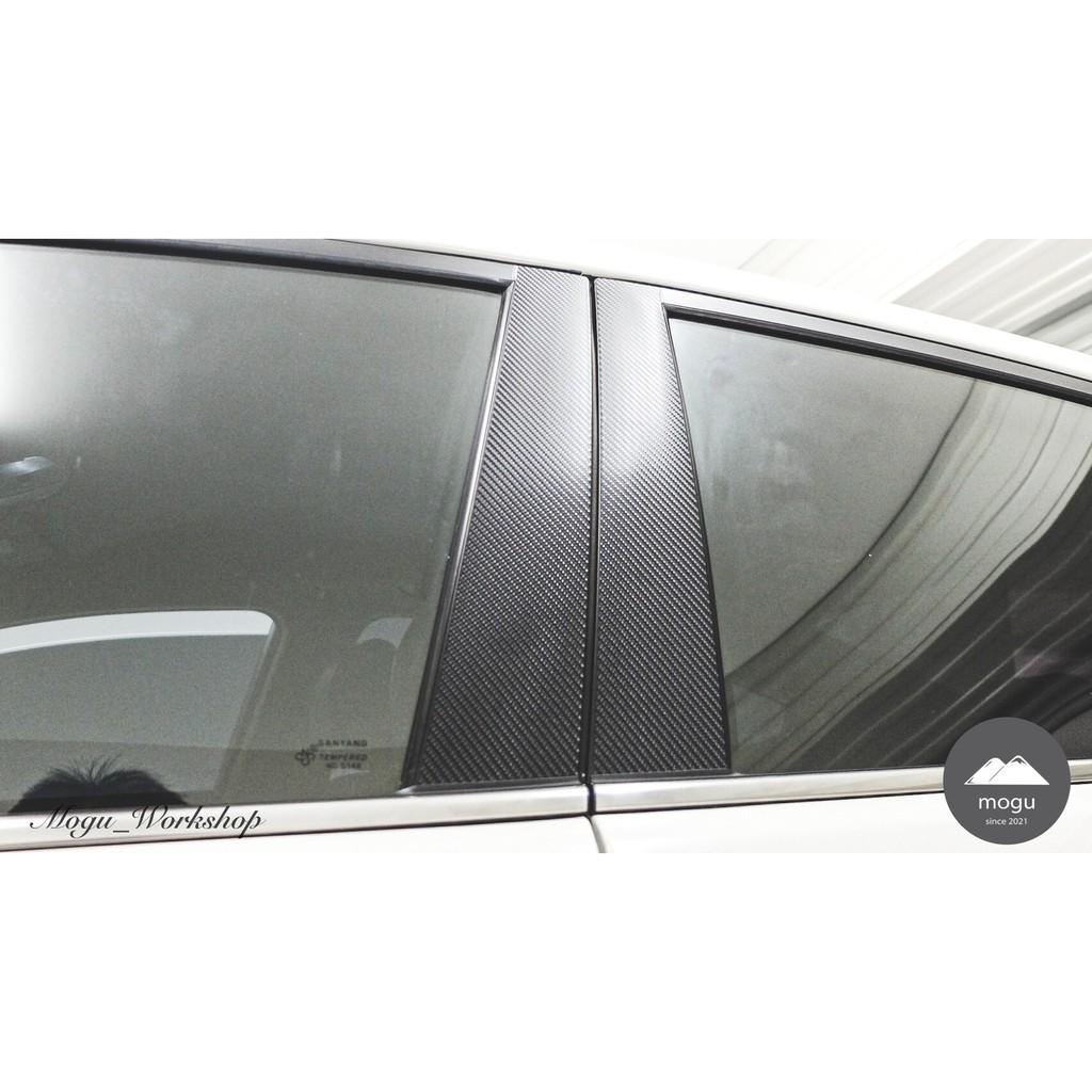 [膜谷包膜工作室]Hyundai Elantra 6.5代 B柱 C柱 碳纖維膜 改裝 卡夢 碳纖維