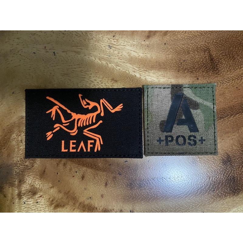 神秘農場臂章魔鬼氈mystery ranch logo patch arcteryx leaf始祖鳥血型布章