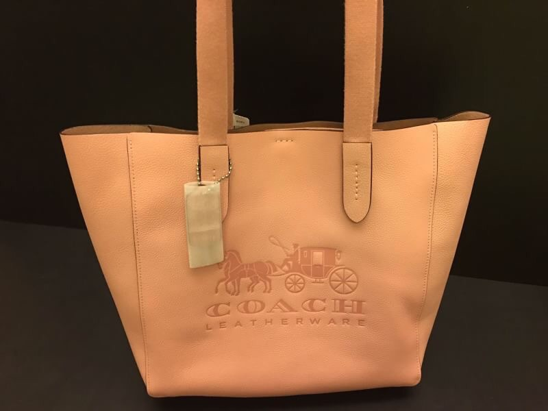 ☆ COACH 25099 牡丹 皮革 托特包 【特價!!4780含運】