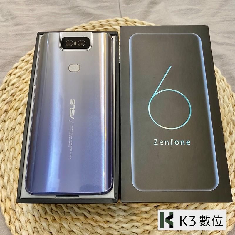 K3數位✅ 二手Asus📱Zenfone6 128/256G (ZS630KL)Android高雄實體店含發票 保固7天