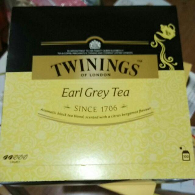 有發票 好市多代購 Twinings 唐寧茶 伯爵茶 (100包)