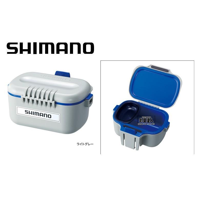 ☆~釣具達人~☆ (可刷卡)SHIMANO CS-031N 保冰餌盒 南極蝦盒 內附揹帶