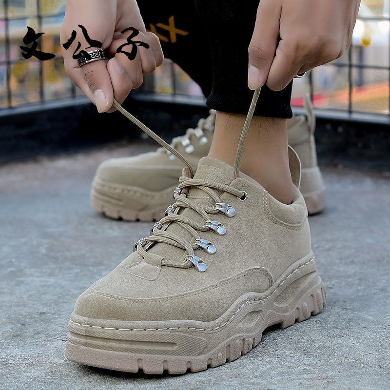 新品 ins低幫馬丁靴 秋季 ulzzang工裝靴 韓版百搭英倫風短靴