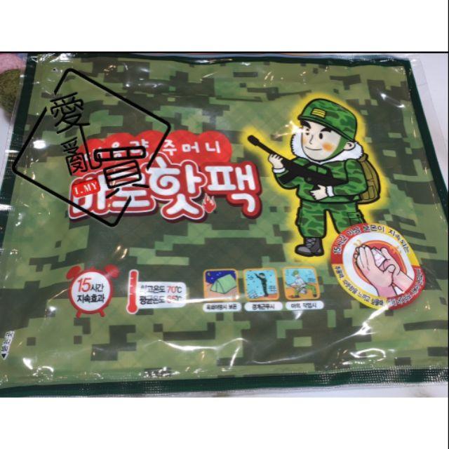 韓國 軍人暖暖包 韓國暖暖包