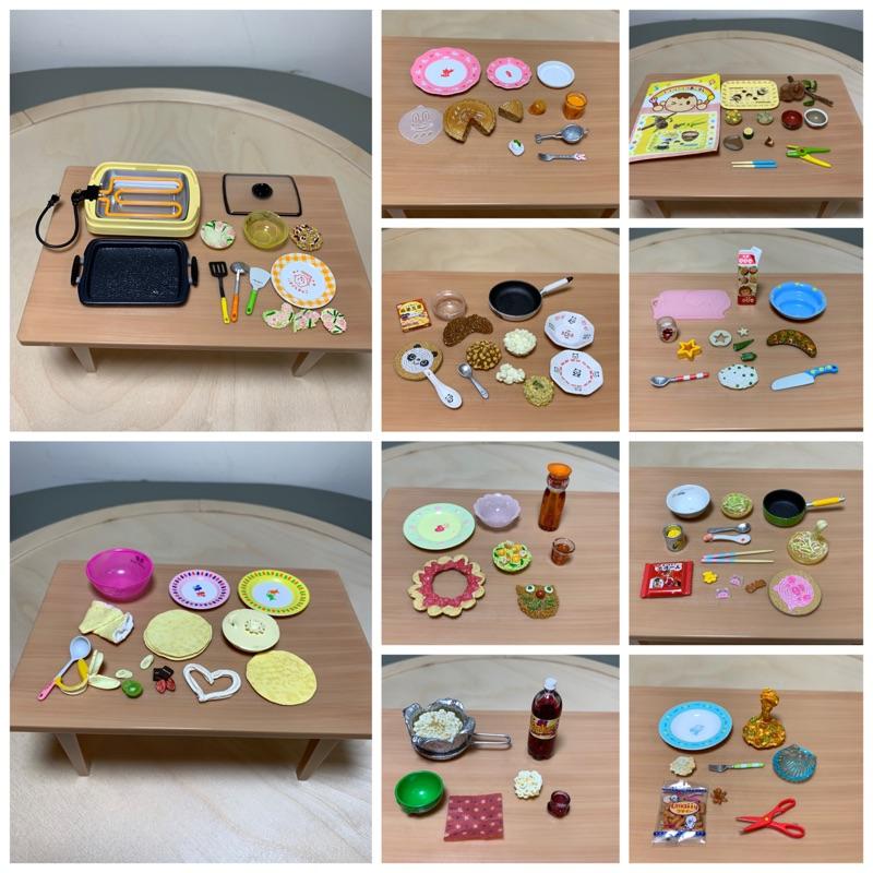 食玩 盒玩 re-ment rement 親子廚房 寶寶料理 媽媽廚房 料理 廚房 大阪燒 趣味 絕版