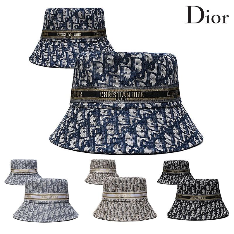 迪奧 Dior 2021 新款水桶帽夏季戶外帽男女士漁夫帽