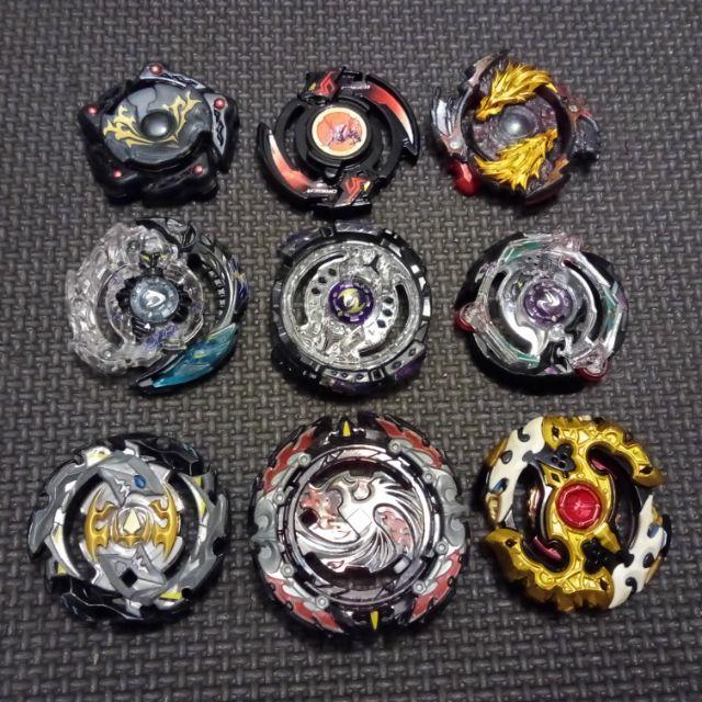 二手 正版 戰鬥陀螺 黑色系列 結晶輪盤 B 131 132