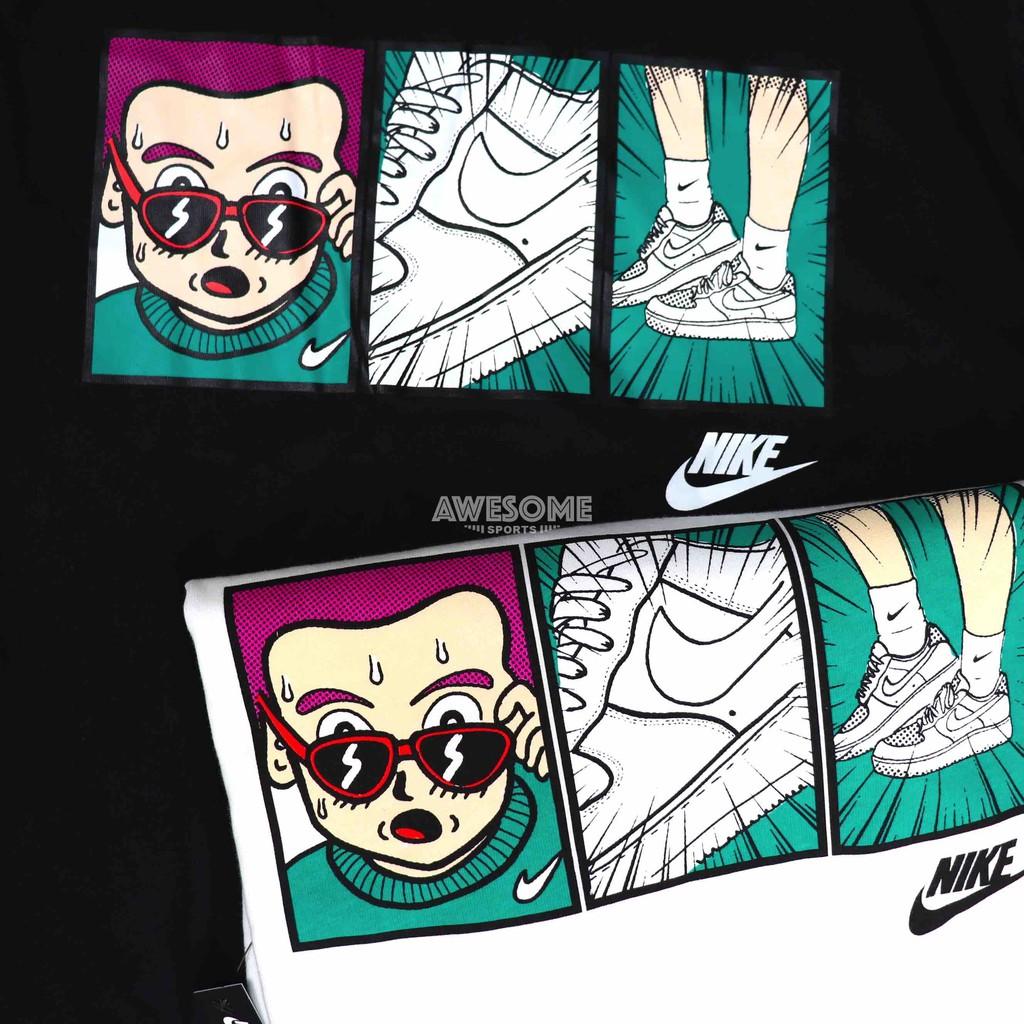 [歐鉉]NIKE NSW 漫畫 卡通 運動短袖 短T 男生 CT6528-010 CT6528-100