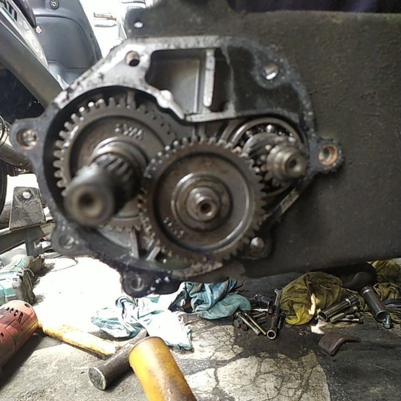 光陽GT125原廠齒輪組二手正廠部品