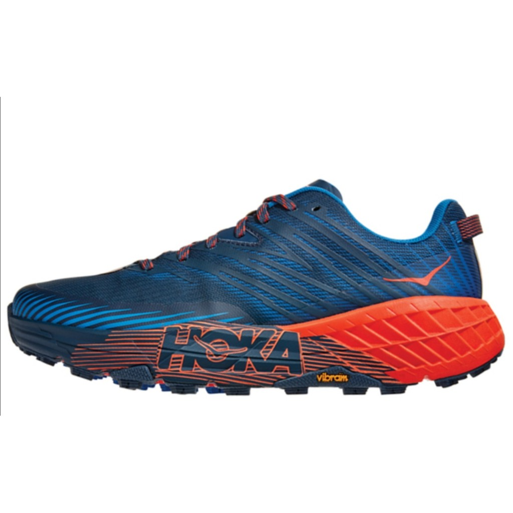 正品 現貨 Hoka One One Speedgoat 4 紅藍 1106525-MBMR