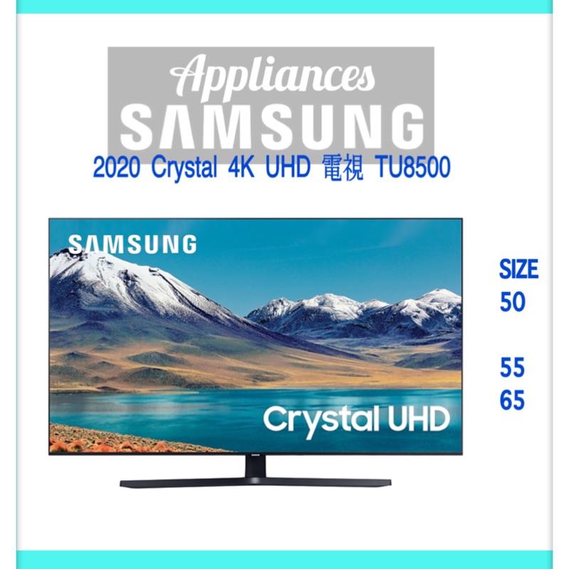 《Appliances》2020 65型 Crystal 4K UHD 電視 TU8500 UA65TU8500WXZW