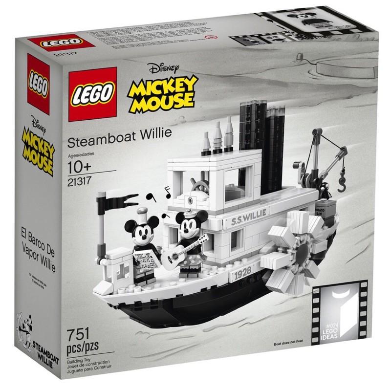 樂高 LEGO 21317 米奇蒸汽船 威利號 Steamboat Willie