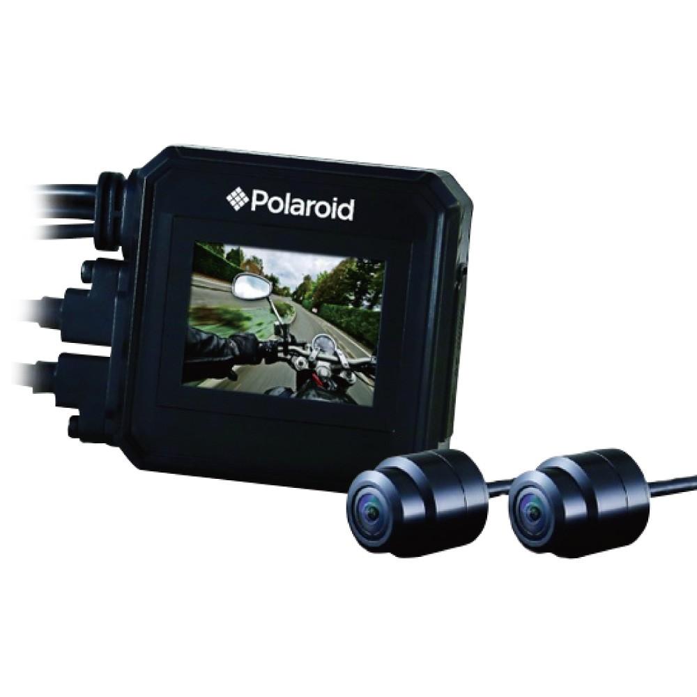 【Polaroid 寶麗萊】MS295WG 雙鏡GPS機車行車紀錄器 前後1080P 現貨免運 贈16G
