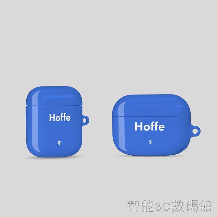 ⭐智能數碼  耳機保護套⭐㍿韓國代購Geeky藍色airpods 1、2、pro耳機保護硬殼