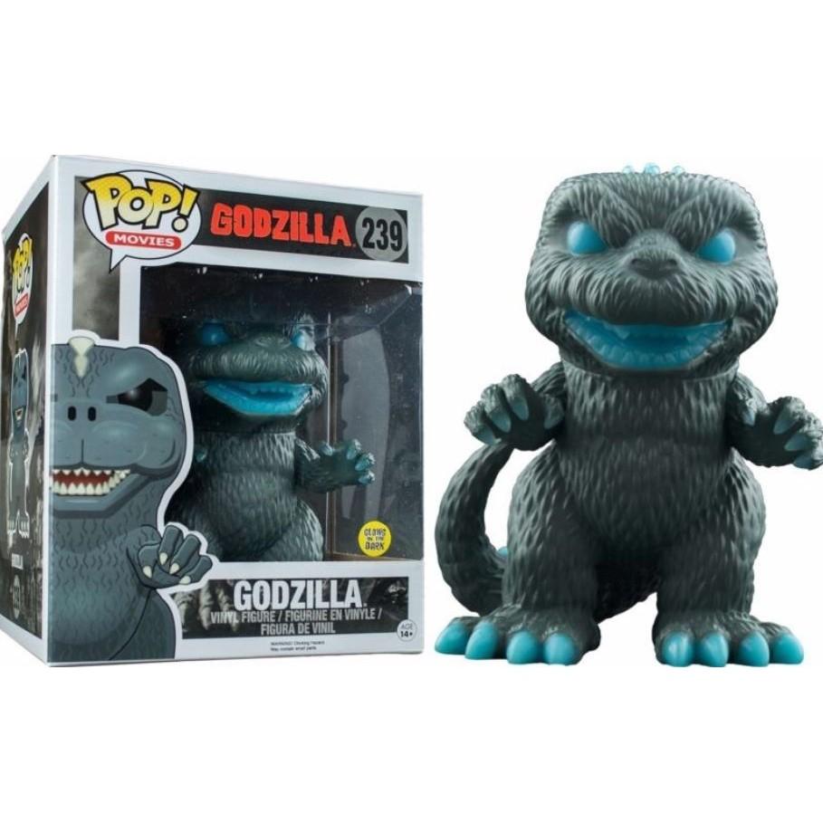 鼎飛臻坊 怪獸之王 Funko Pop Godzilla 哥吉拉 哥斯拉 酷斯拉 公仔 6吋 (夜光型) 美國正版