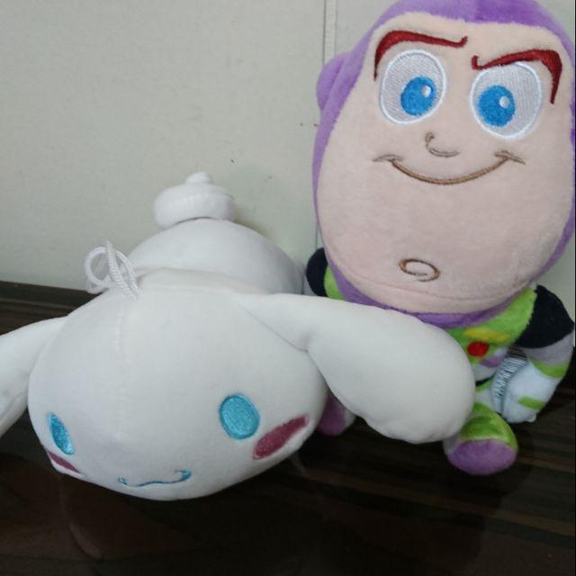 三麗鷗 正版授權 大耳狗 大眼蛙 趴姿吊飾 吊飾娃娃 大耳狗 骨頭枕 迪士尼 玩具總動員 巴斯光年 坐姿款 娃娃