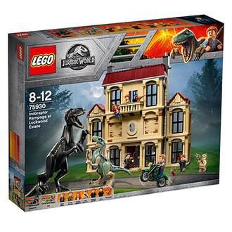 [大王機器人] 樂高 LEGO 75930 侏儸紀系列 Indoraptor Rampage at Lockwood