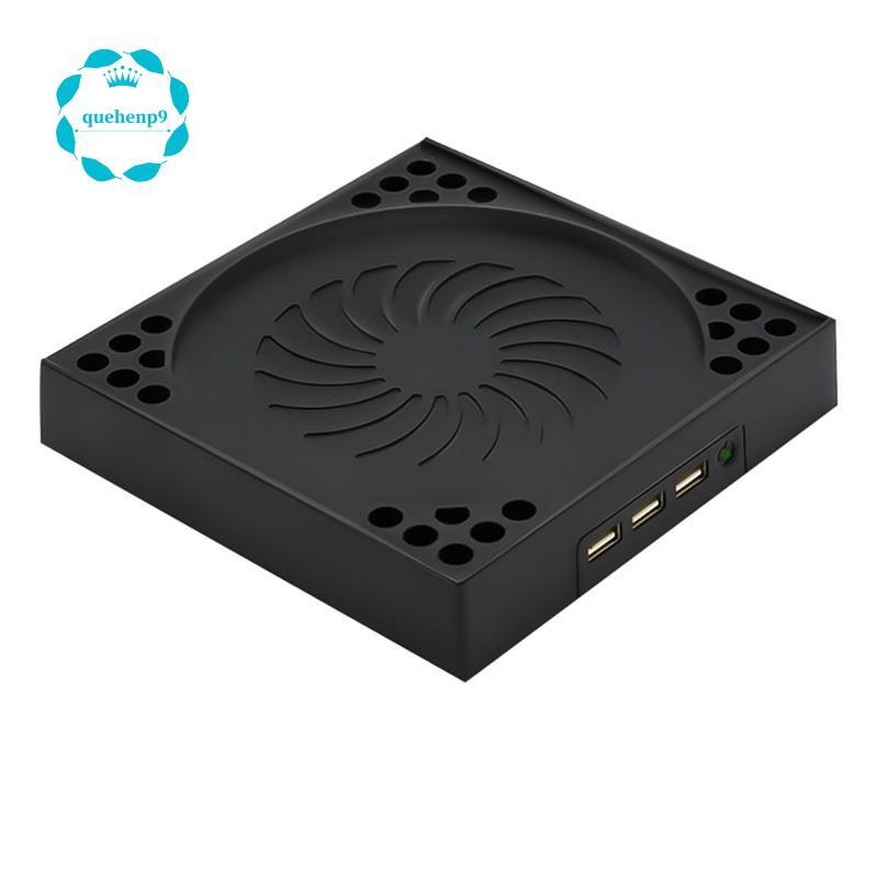 適用於 Xbox Series X 主機底座散熱風扇 3 種模式遊戲散熱器 USB 帶 2 個無噪音散熱風扇