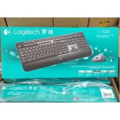 盒裝僅開封羅技MK540 MK710無線鍵盤滑鼠套裝優聯接收器家用多媒體鍵鼠套裝