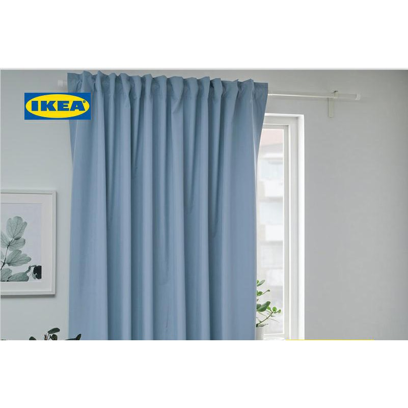 IKEA宜家BENGTA本格塔遮光窗簾臥室