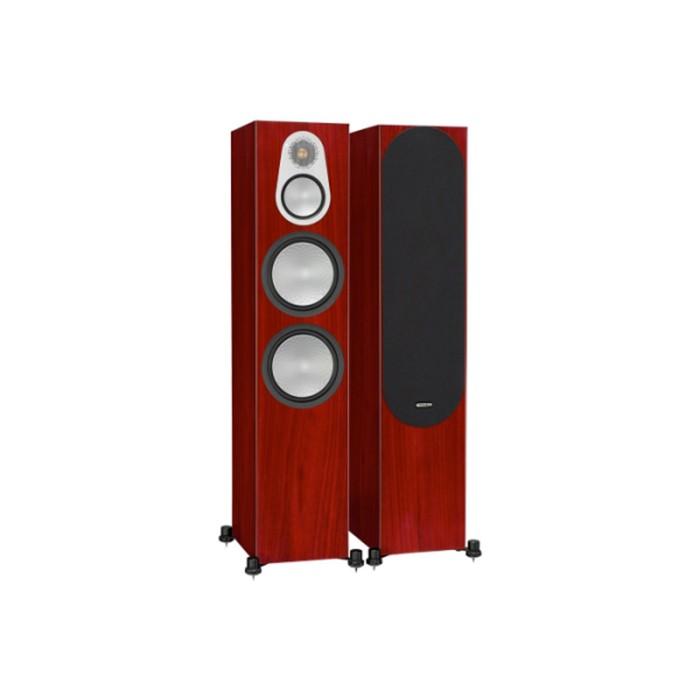 英國 Monitor Audio 銀Silver 500 落地式喇叭/對 木紋版 公司貨享保固《名展影音》