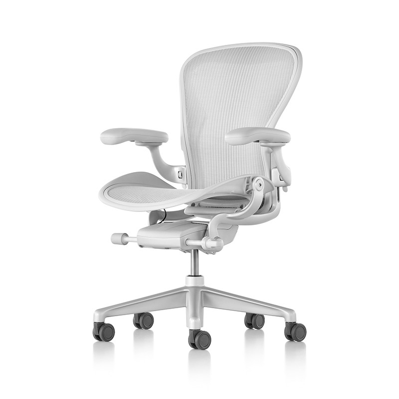 Herman Miller Aeron 2.0 礦白色 4D扶手 旗艦版 全功能 二代人體工學椅 辦公椅 電腦椅