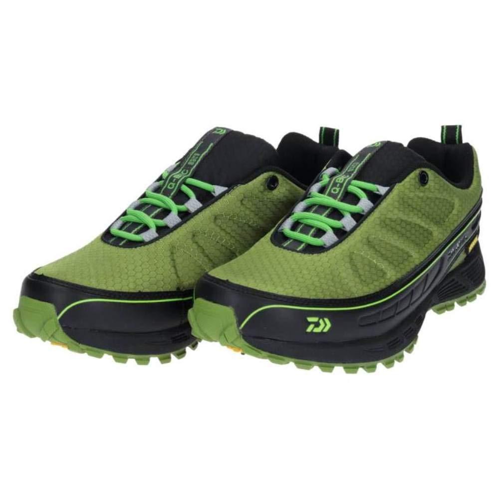 DAIWA 日本大和精工 DS-2101QS 磯釣路亞 防滑 防水 耐磨登礁釣魚鞋 防滑膠底 綠色(全新出清)