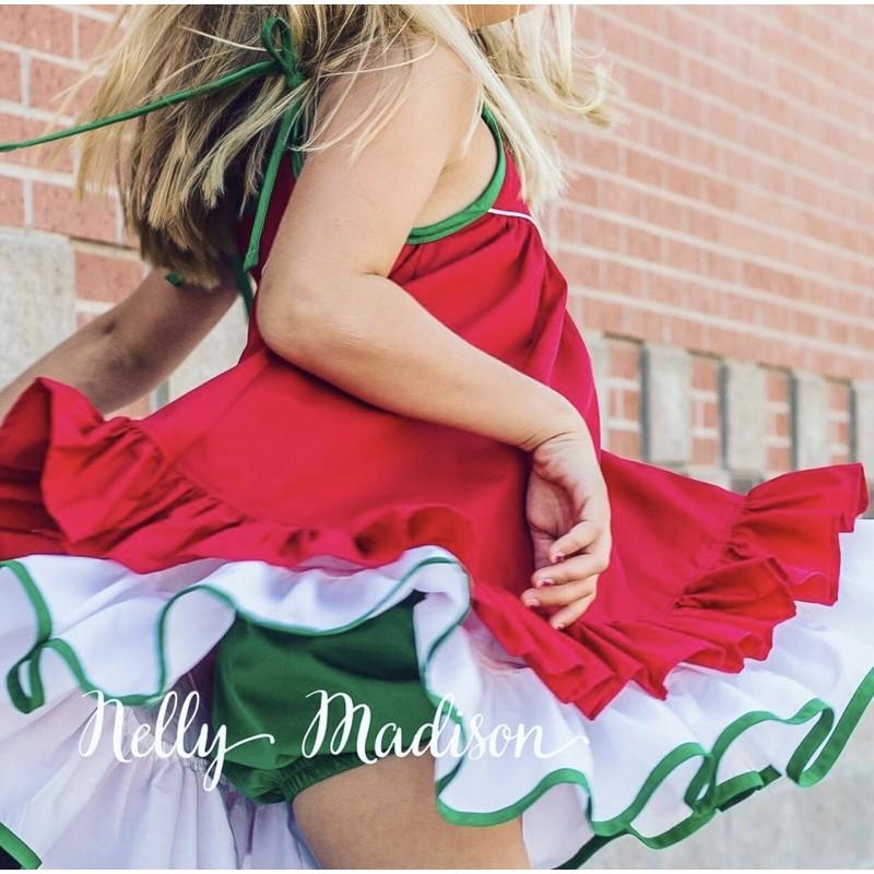 賣場可刷卡🌟聖誕節配色🥰超美💯Nelly Madison hannah Dress