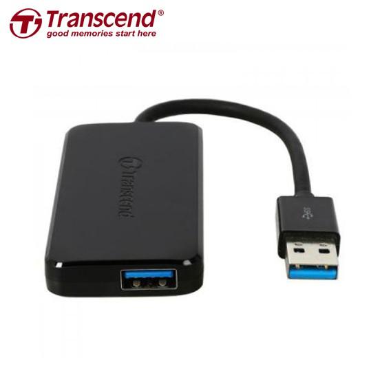 創見 Transcend USB 3.0 極速 4埠 HUB 集線器
