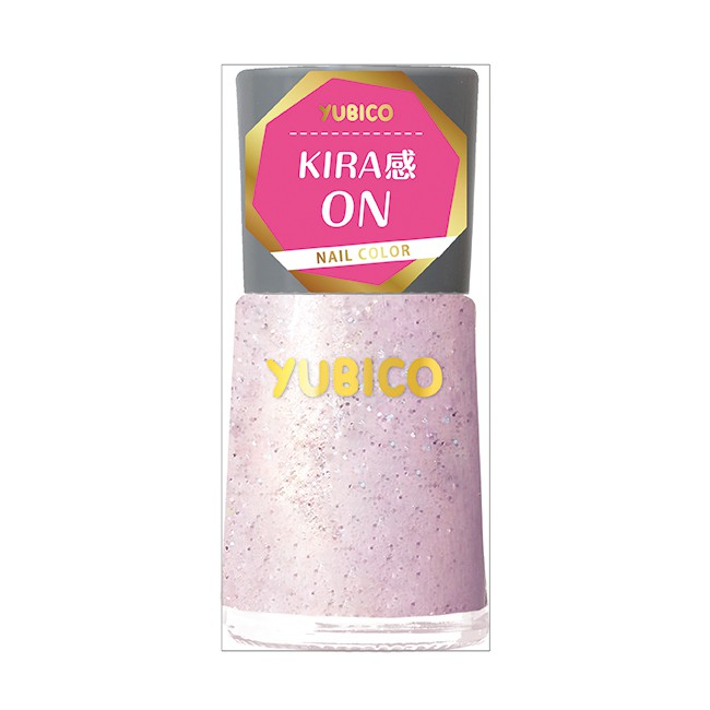YUBICO 指甲油 粉月星塵 12mL