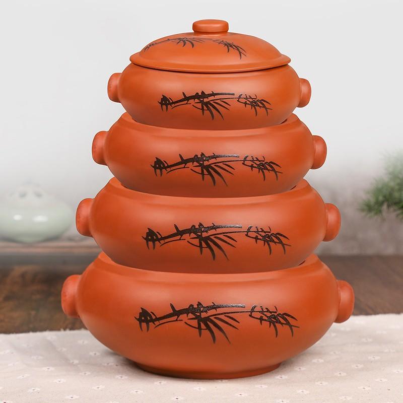 汽鍋家用汽鍋雞蒸汽鍋紫砂云南建水紫陶燉鍋煲湯陶瓷蒸鍋商用氣鍋