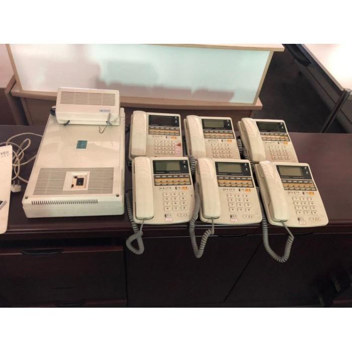 鑫高雄駿喨二手貨家具(二手及全新買賣)---國際牌 電話總機 1對12 電話 總機電話