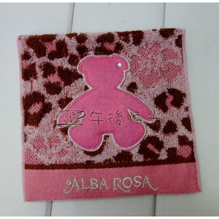 【午後時光】日本zakka雜貨ALBA ROSA豹紋小熊 泰迪熊 扶桑花棉袋衛生棉生理用品護墊收納包小物包-5624 台中市