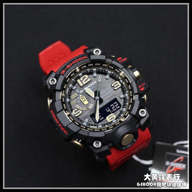 CASIO卡西歐G-SHOCK手錶GWG-1000 GWG-1000GB-1A/4A 光能電波泥王 N02g